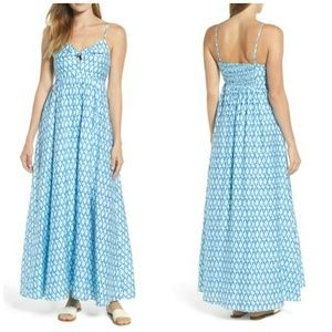 Vineyard Vines | Lattice Print Maxi Dress